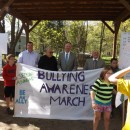 District Attorney Murphy participates in the Second Annual Anti Bullying Awareness March:  Be An Ally! Ballston Spa with Mayor Romano and Supervisor Lewza